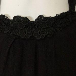 Zara Dresses - Zara Black Sleeveless Swing Dress